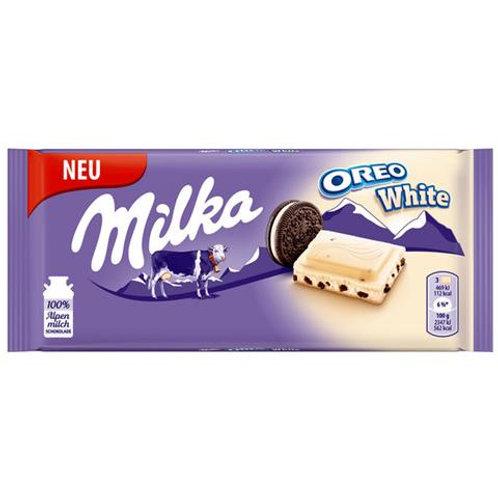 Milka Oreo White