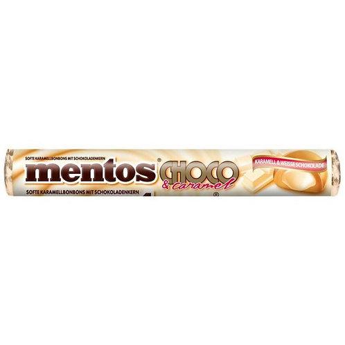 Mentos Choco e Caramel White