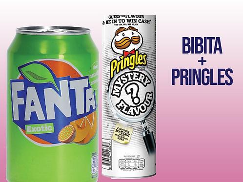 pringles + bibita