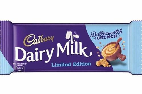 Cadbury Milk Butterscotch crunch