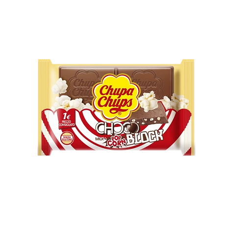 Chupa Chups Choco Block Pop Corn