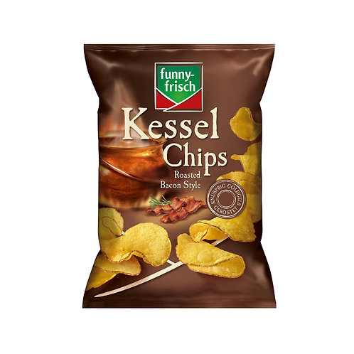 Chips roasted bacon style