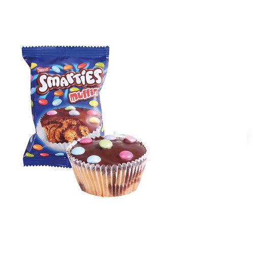 Smarties muffins