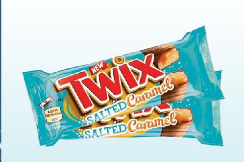 Twix Salted Caramel X 2