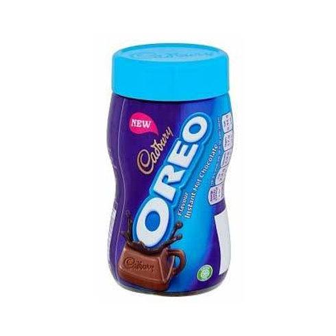 Oreo Cadbury istant hot chocolate