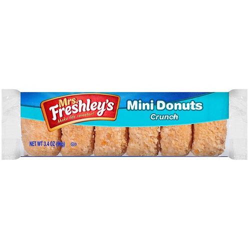 Mrs Freshley's crunch mini donuts
