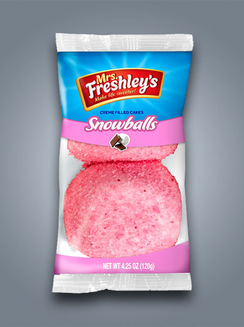 Mrs Freshleys Pink Snowballs