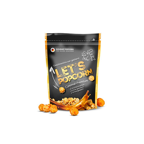 Let's PopCorn Caramel-Premium