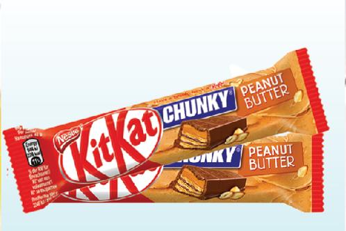 KitKat CHUNKY Peanut butter X2
