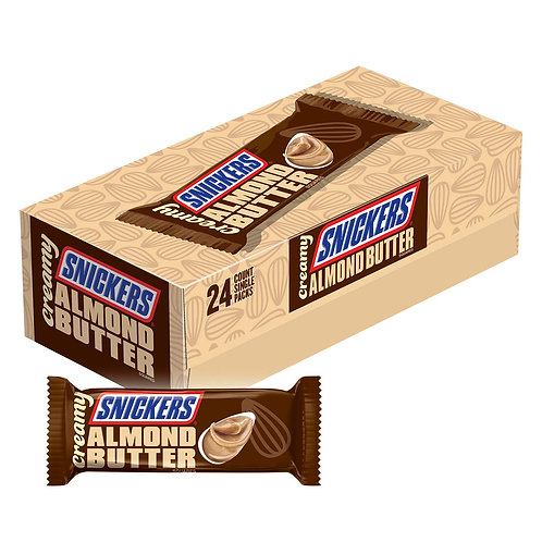 Snickers Almond Butter creamy