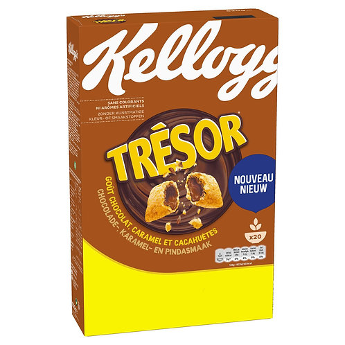 Kellogg's Tresor Choco,Caramel e Peanut Butter