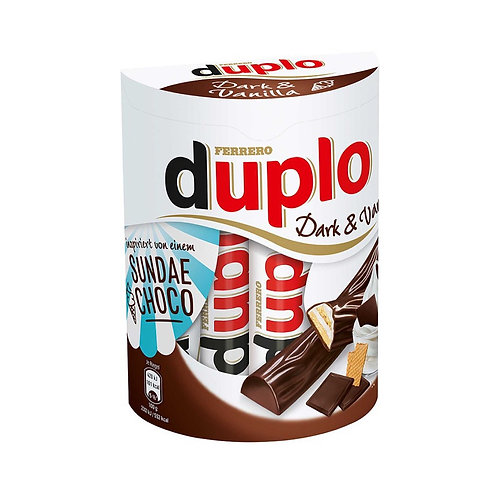 Duplo Dark & Vanilla Family Pack