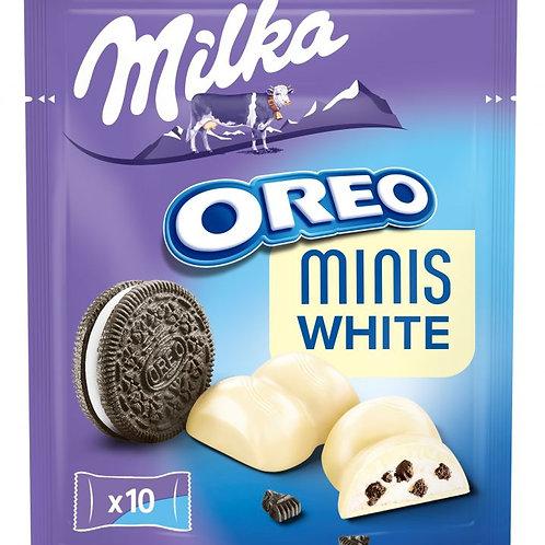 Milka Oreo Minis White