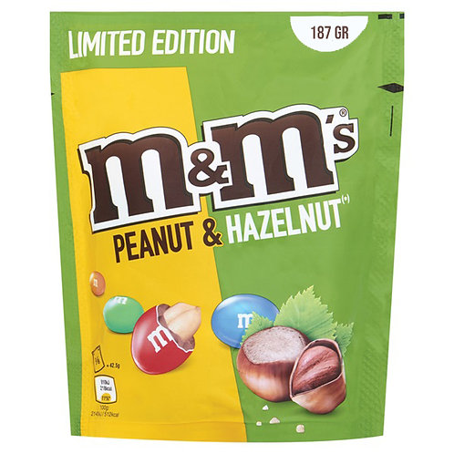 M&M Limited Edition Peanut And Hazelnut