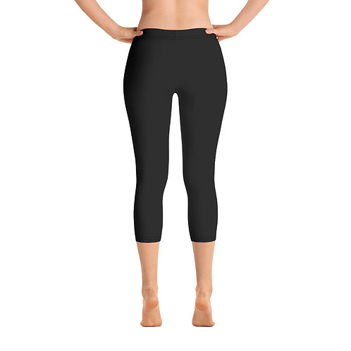 Black Property of Fit U Capri Leggings