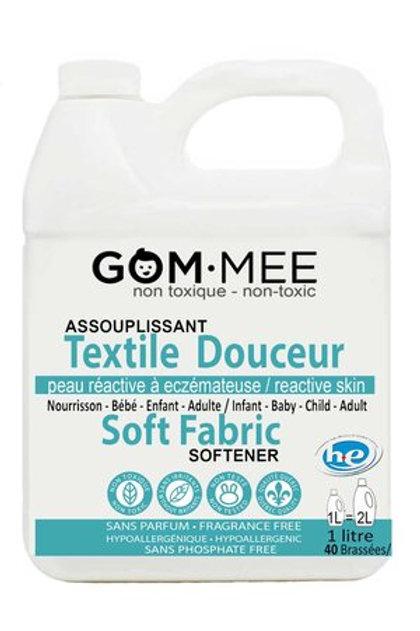 Assouplisseur textiles peaux réactives eczéma hypoallergénique