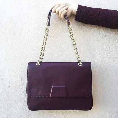 Flat messenger satchel