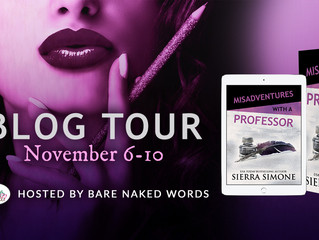 Misadventures with a Professor Blog Tour!