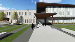 South Clearfield Elementary School Front Entry Conceptual Rendering - Clearfield, UT