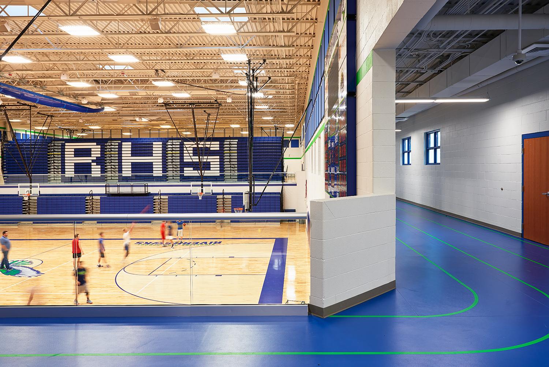 Ridgeline High School Gym & Indoor Track - Millville, UT