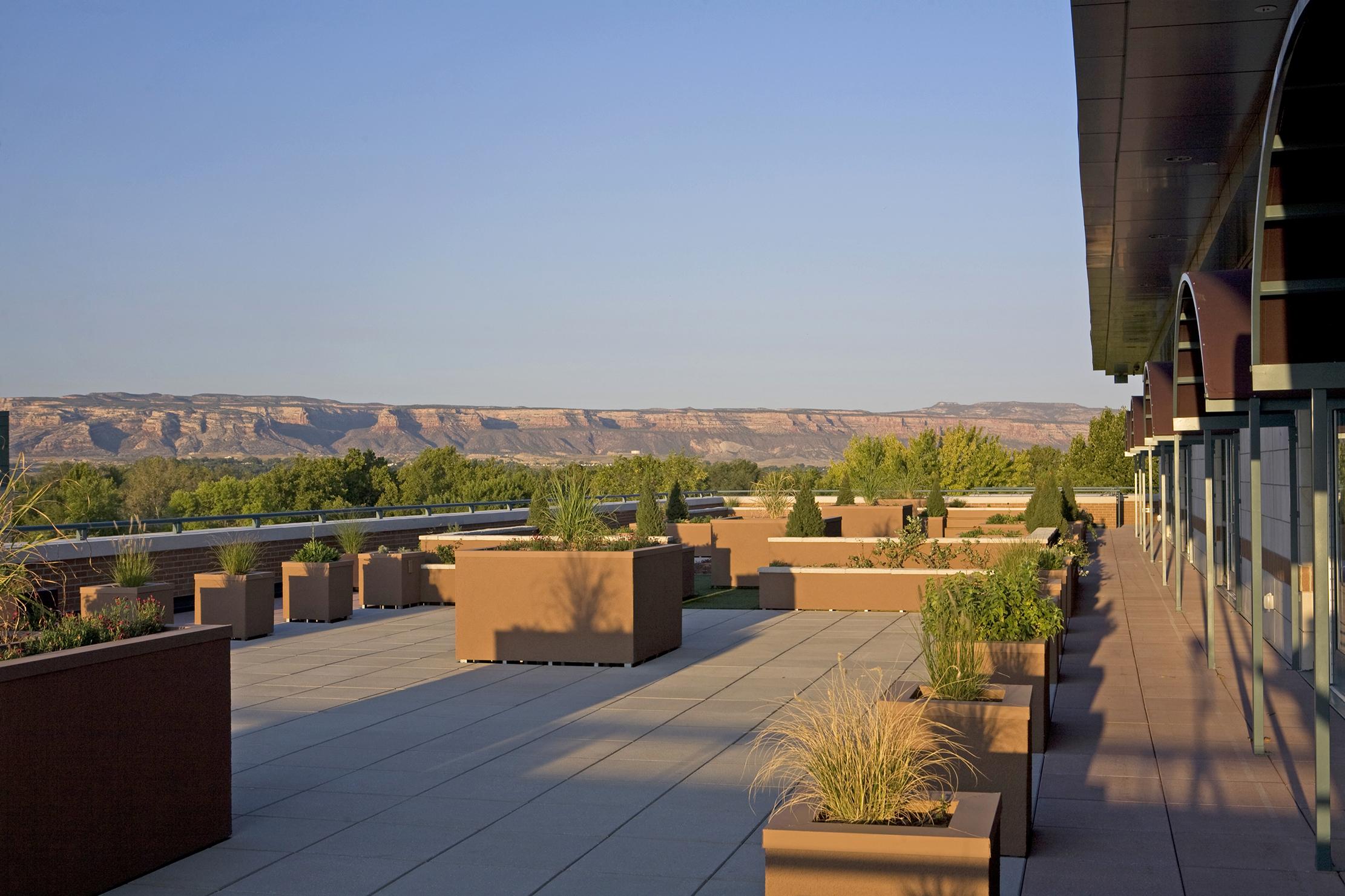 Dominguez Hall Rooftop Garden - Colorado Mesa University - Grand Junction, CO