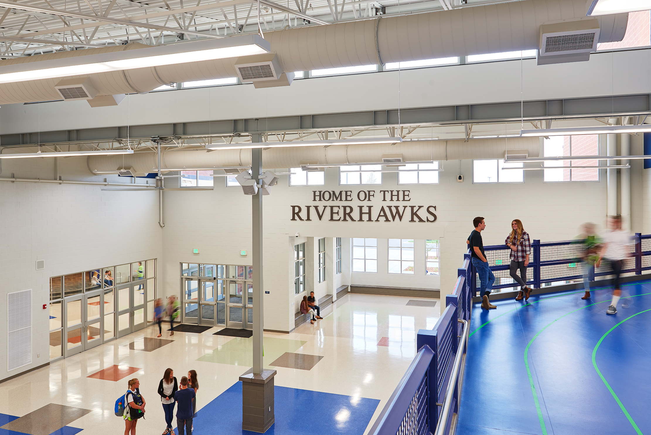 Ridgeline High School Common Area - Millville, UT
