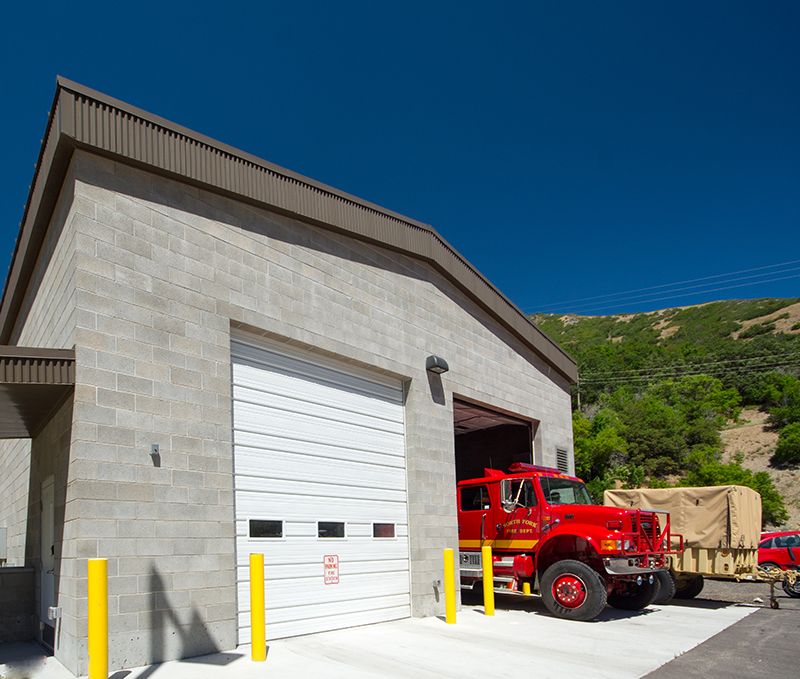 North Fork Fire District Vehicle Storage - Provo Canyon, UT