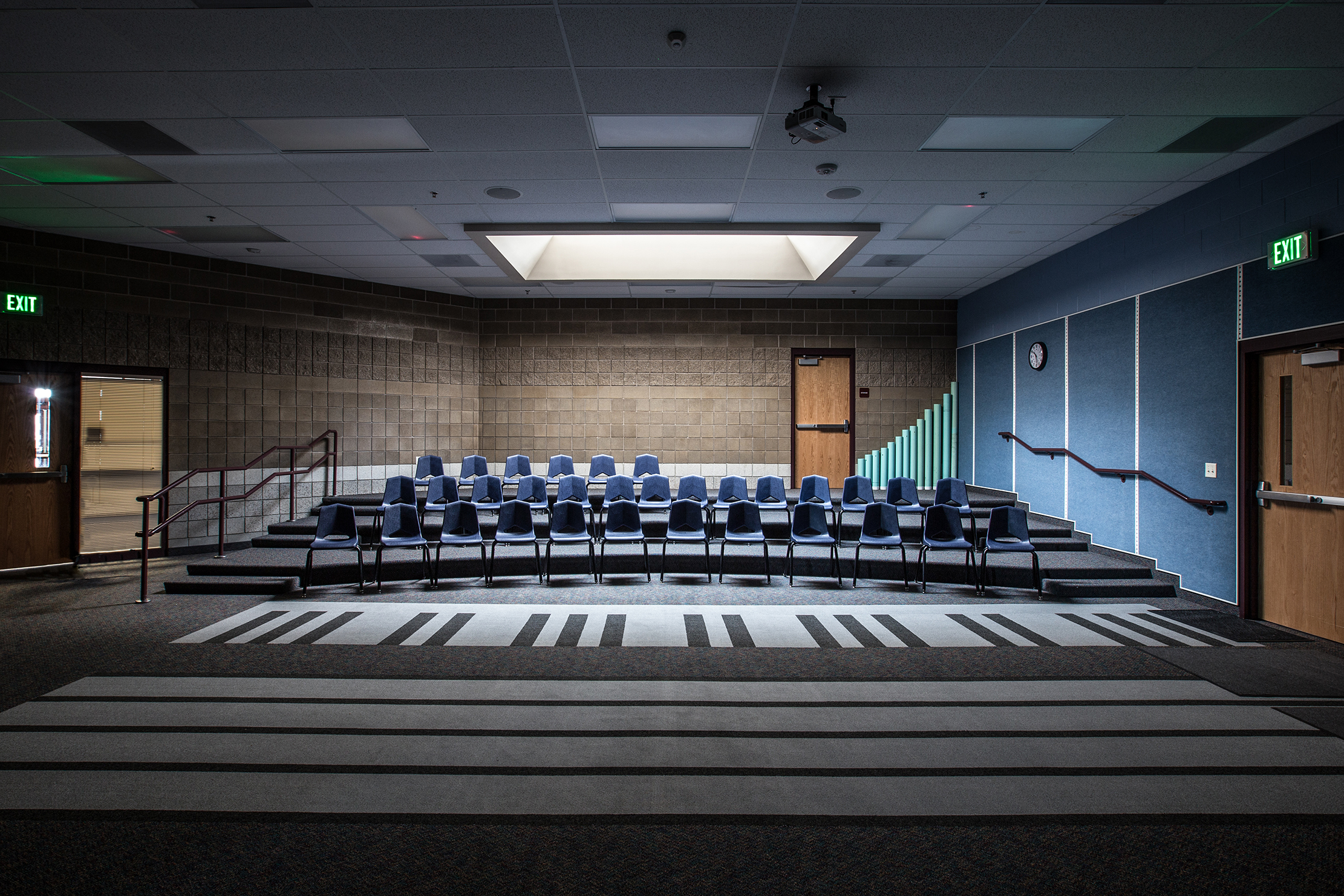 Birch Creek Elementary School Music Room - Smithfield, UT