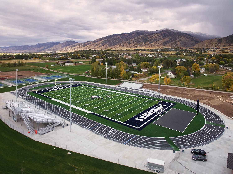 Ridgeline High School Football Field - Millville, UT