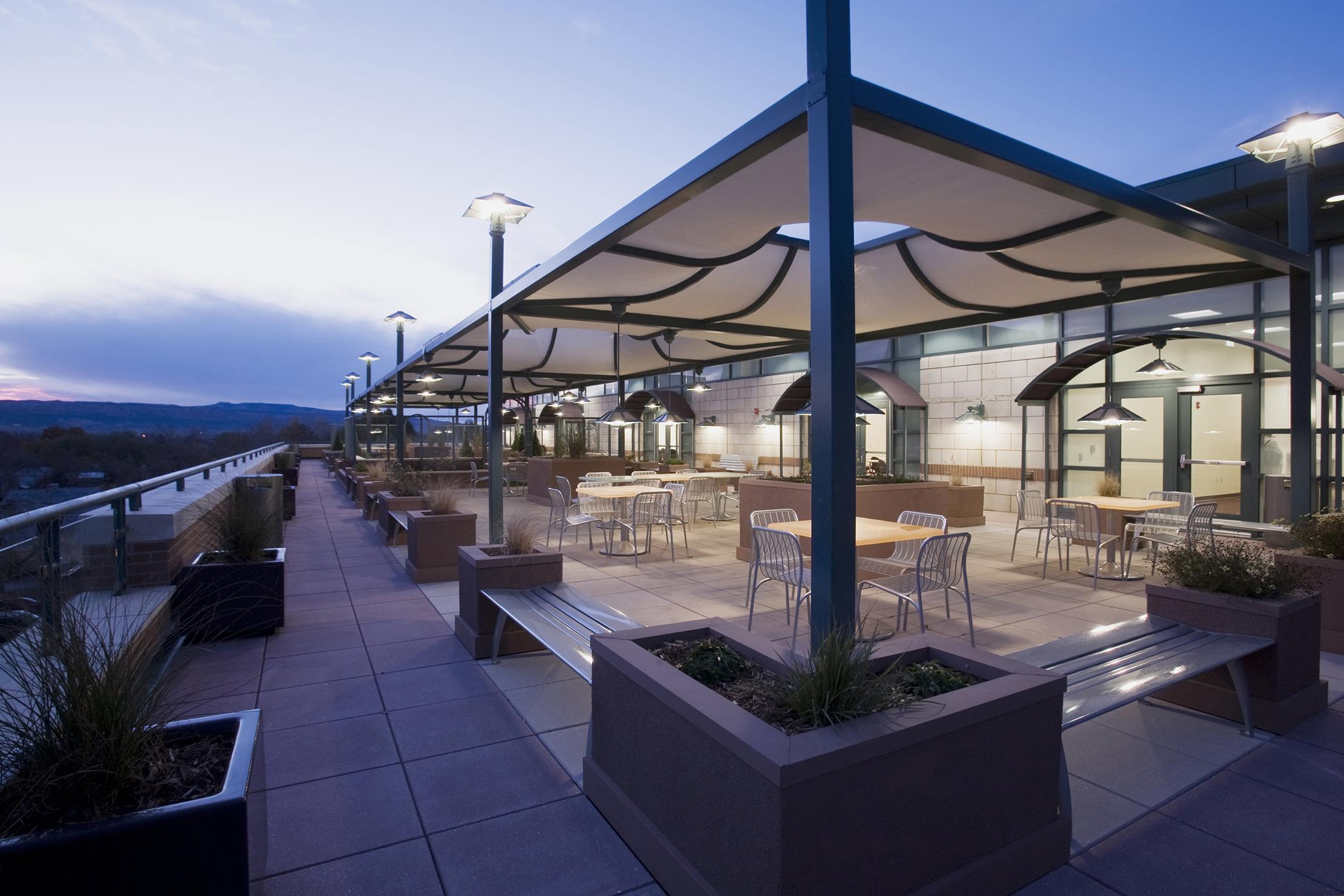 Dominguez Hall Outdoor Seating - Colorado Mesa University - Grand Junction, CO