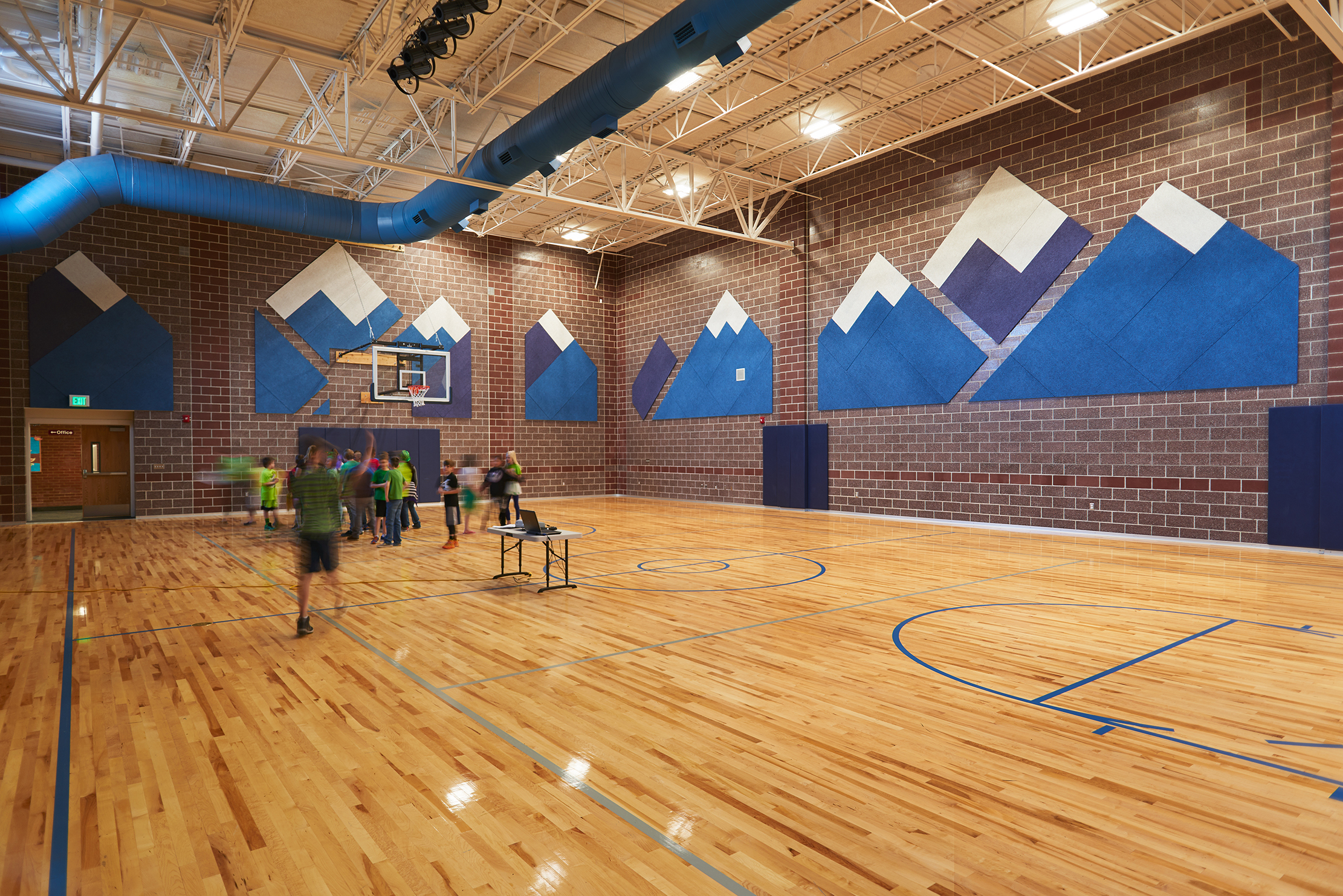 Summit Elementary School Gym - Smithfield, UT