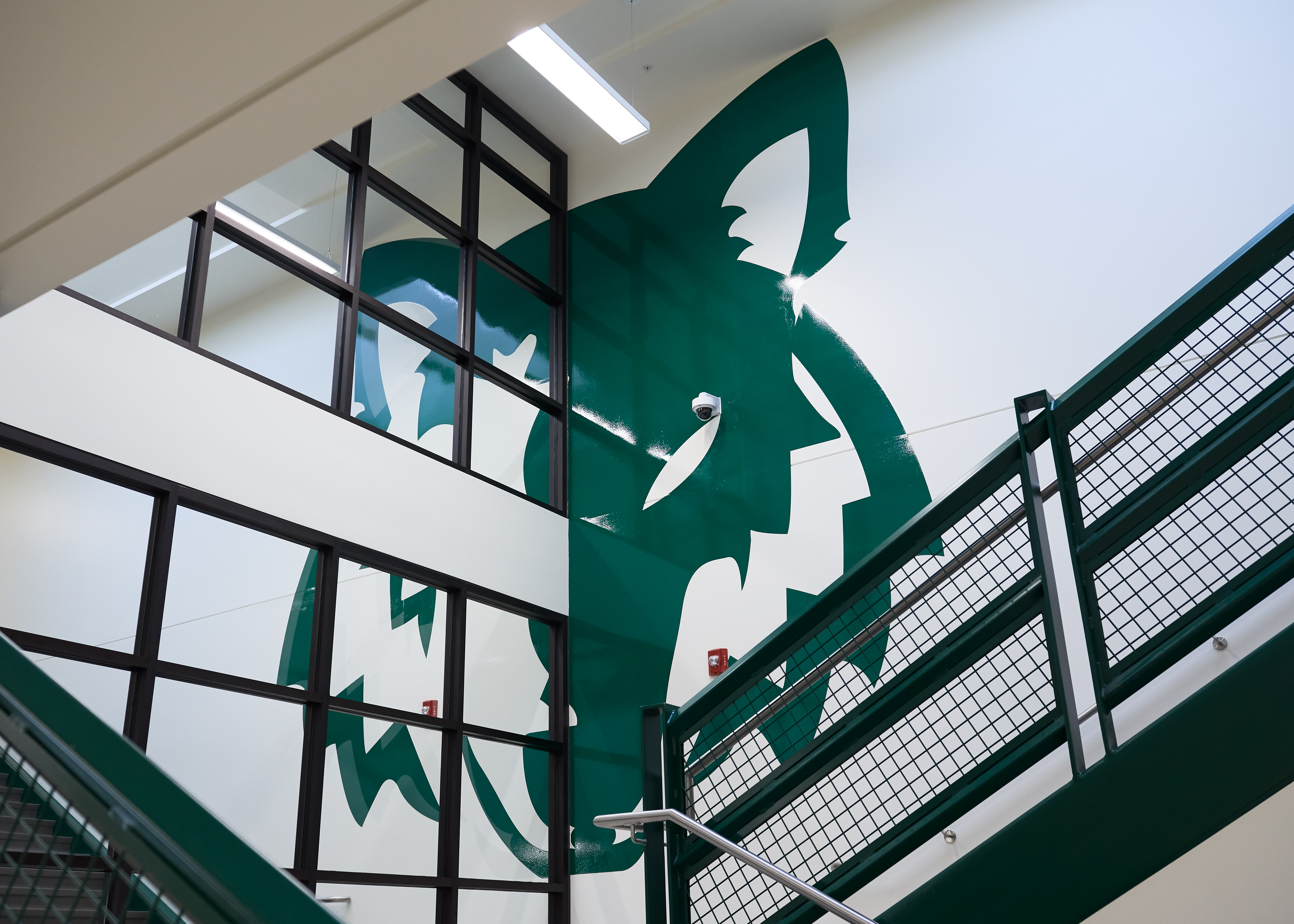 Green Canon High School Mascot Mural - North Logan, HS