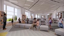Ellis Elementary School Media Center Conceptual Rendering - Logan, UT