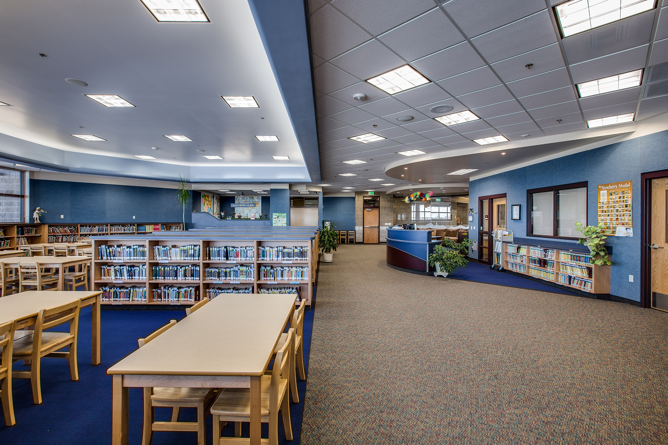 Birch Creek Elementary School Library - Smithfield, UT