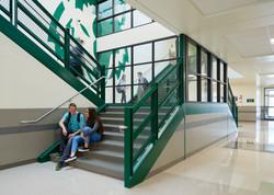 Green Canyon High School Stairwell - North Logan, UT