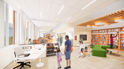South Clearfield Elementary School Media Center Conceptual Rendering - Clearfield, UT
