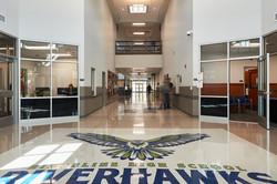 Ridgeline High School Main Entrance- Millville, UT