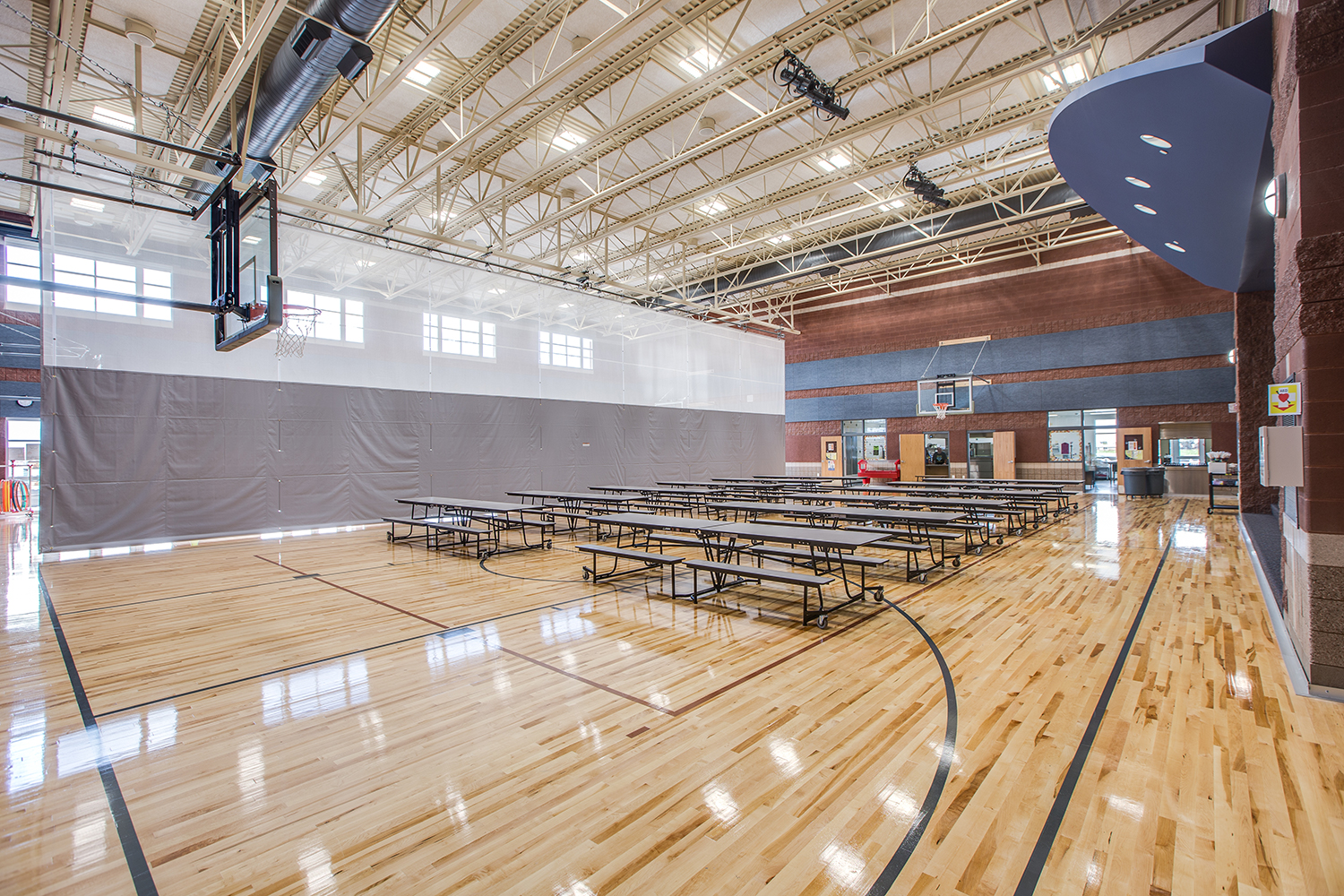 Lewiston Elementary School Gym & Cafeteria - Lewiston, UT