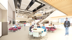 South Clearfield Elementary School Cafe Conceptual Rendering - Clearfield, UT