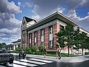 Ellis Elementary_South West Corner Rende