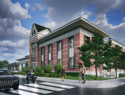 Ellis Elementary School South West Conceptual Rendering - Logan, UT