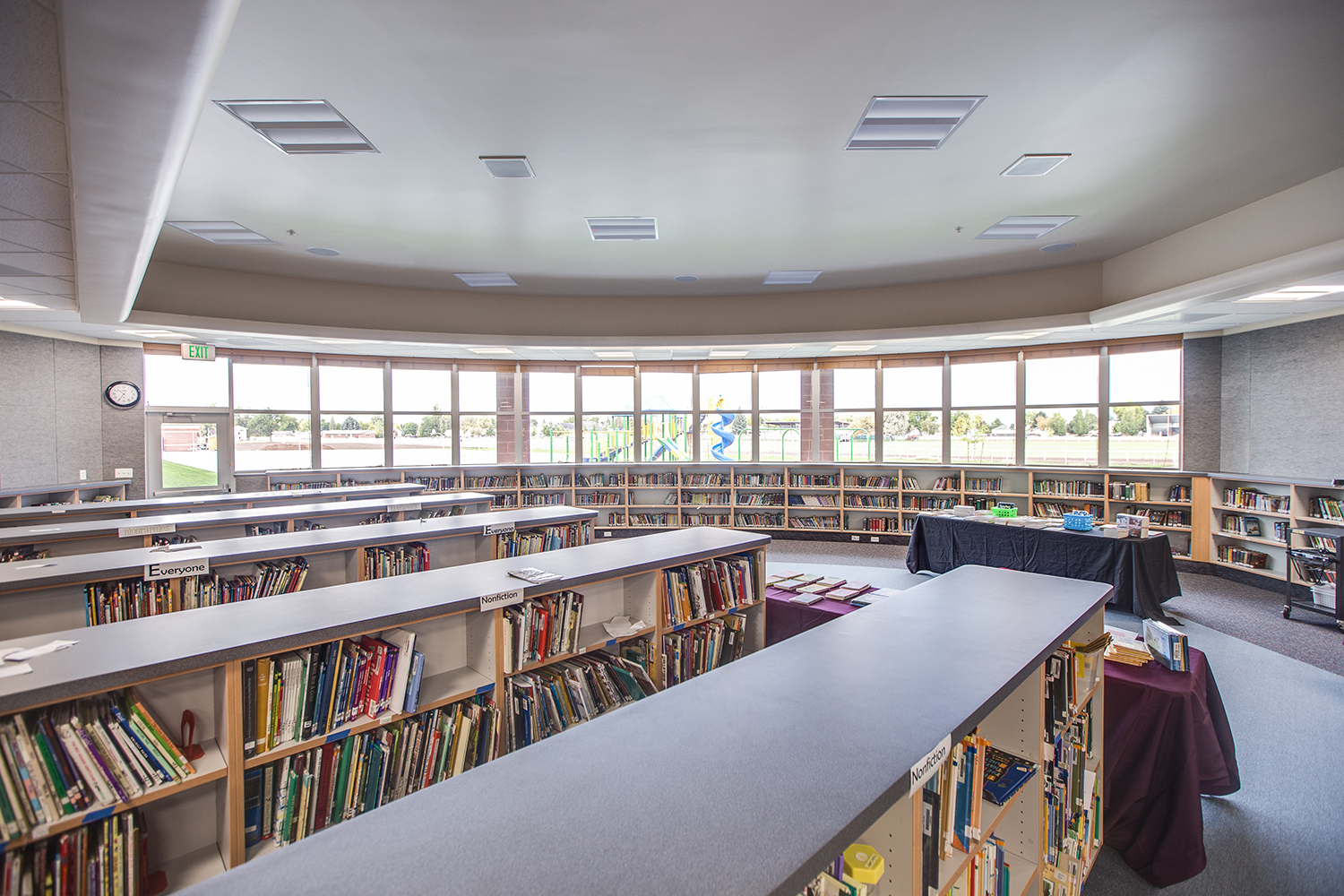 Lewiston Elementary School Library - Lewiston, UT