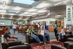 Ridgeline High School Media Room - Millville, UT