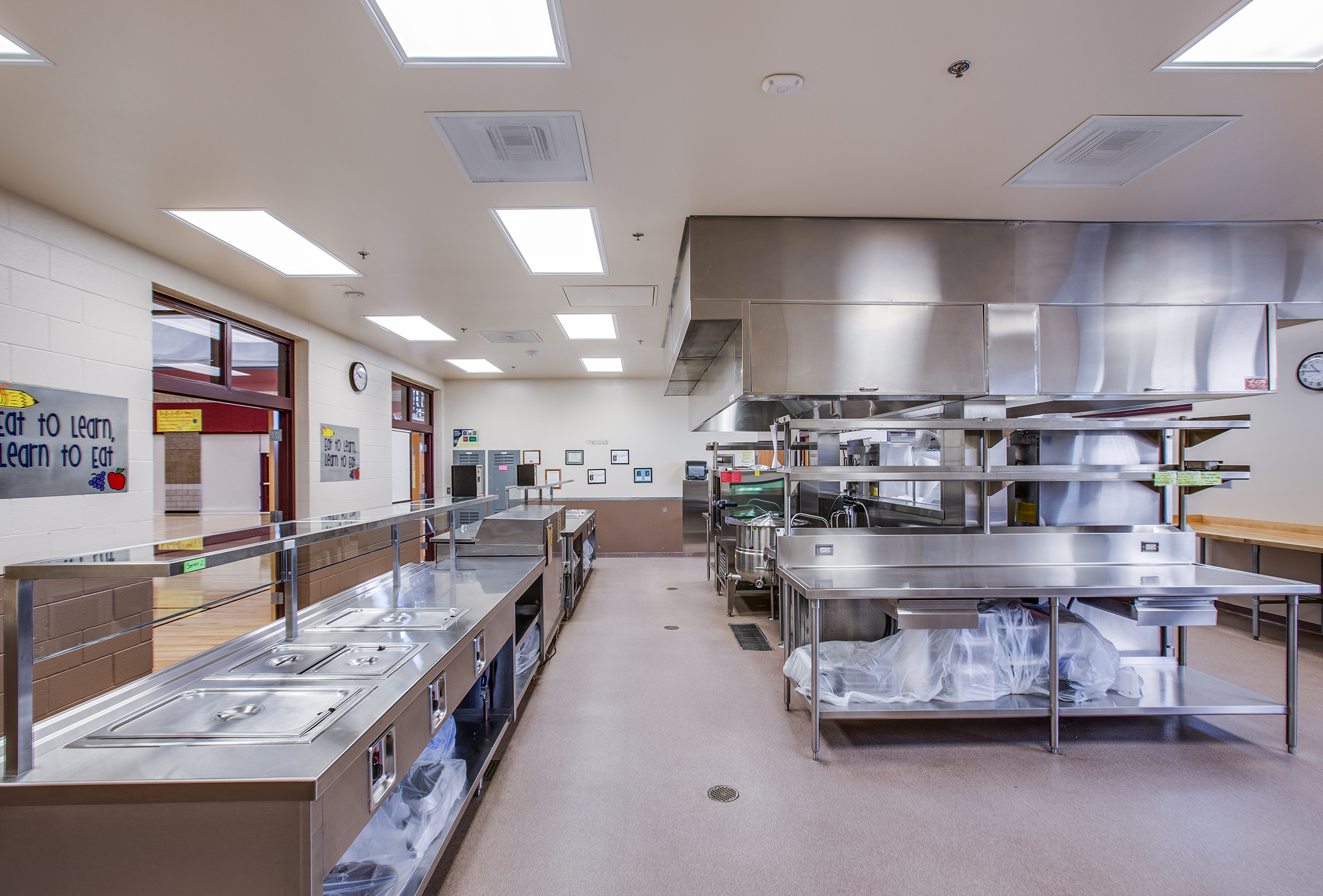 Birch Creek Elementary School Kitchen - Smithfield, UT