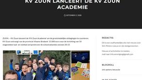 KV Zuun lanceert kv zuun academie