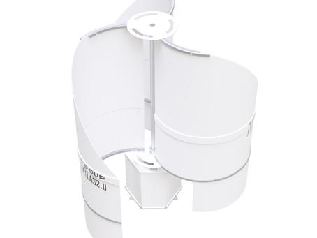 Éolienne améliorée TESUP Atlas2.0