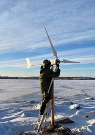 This ZEUS3.0 wind turbine has good features but needs QC engineer in charge.
