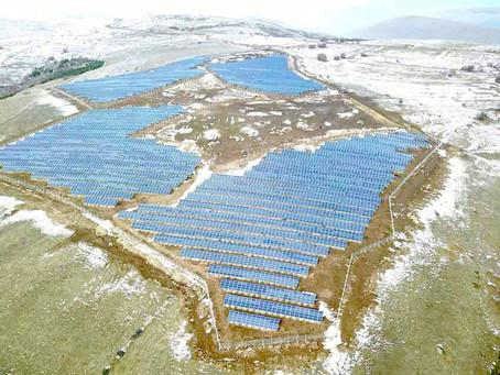 Planta solar TESUP de 4,6 MWdc.