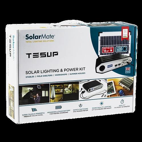 Kit de energía solar renovable