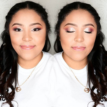 It was a pleasure working with this Beauty!!!...She asked for A soft Glam & Glitter my two favorite Words to Hear..jpg